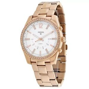 Fossil Hybrid Smartwatch Scarlette Rose Gold Watch